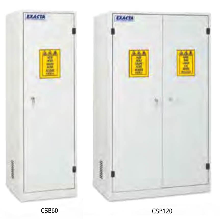 armadi di sicurezza exacta per prodotti chimici non infiammabili